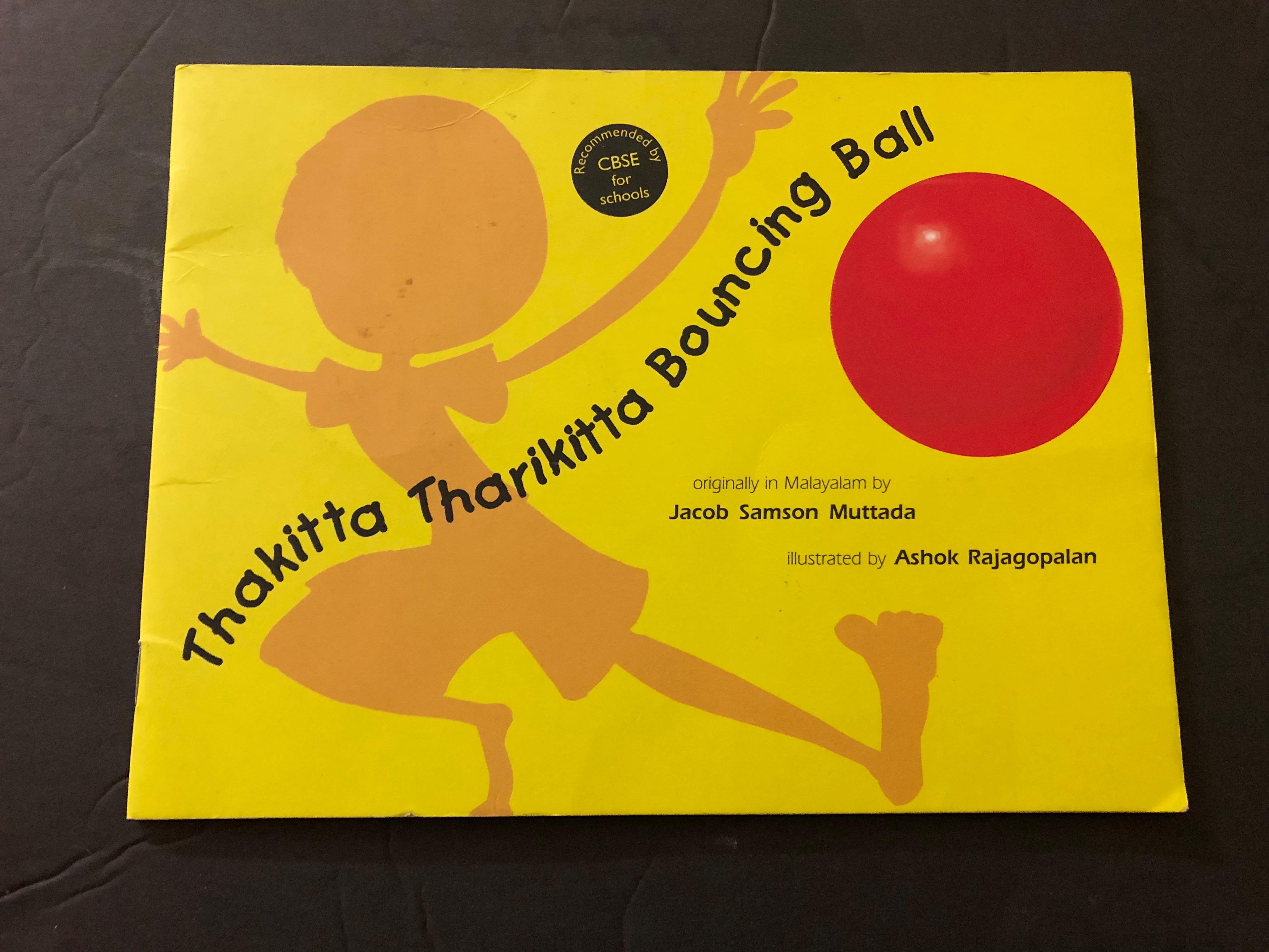 Book Review-Thakitta Tharikitta Bouncing ball