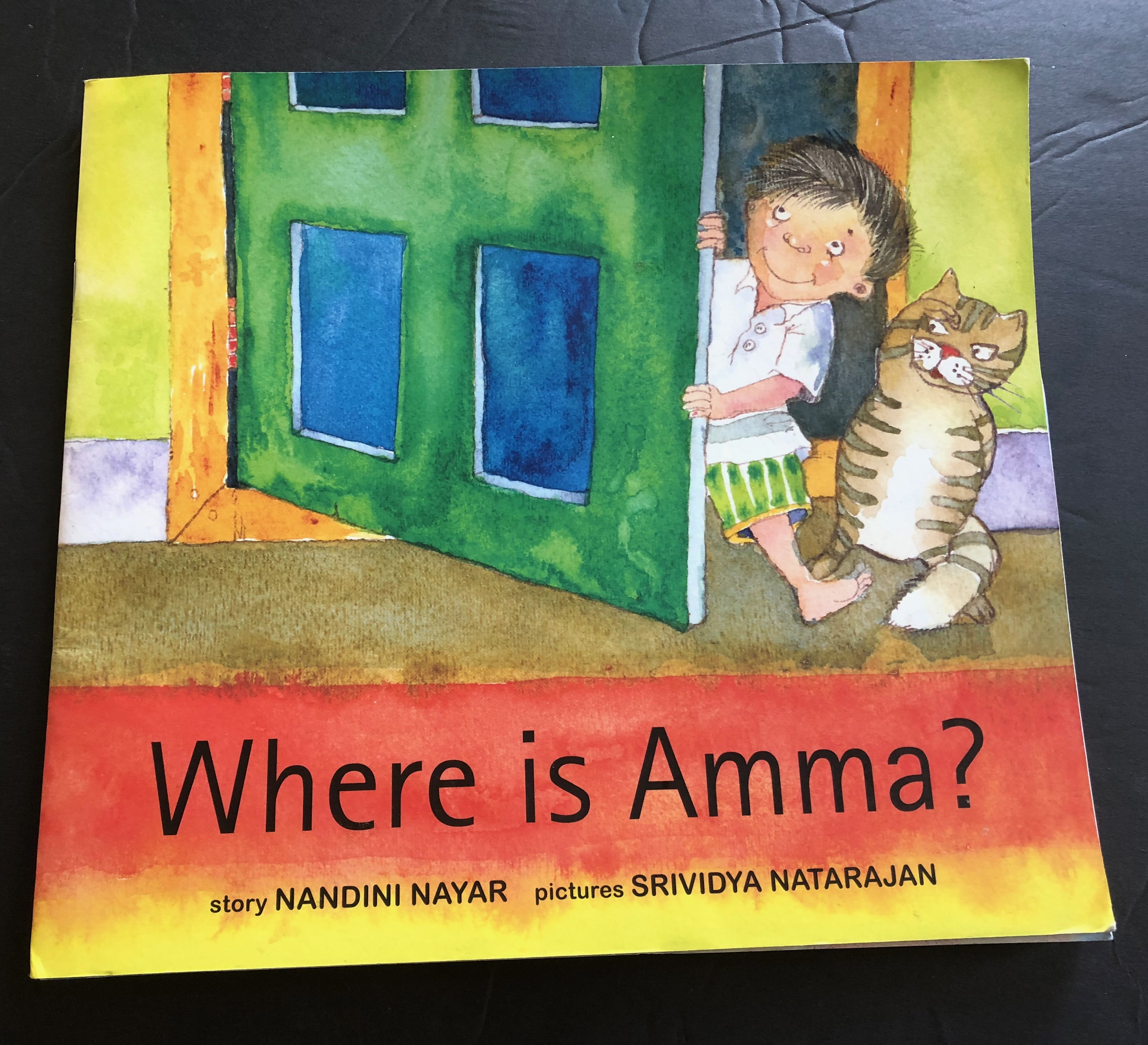 Book Review-Where is Amma?