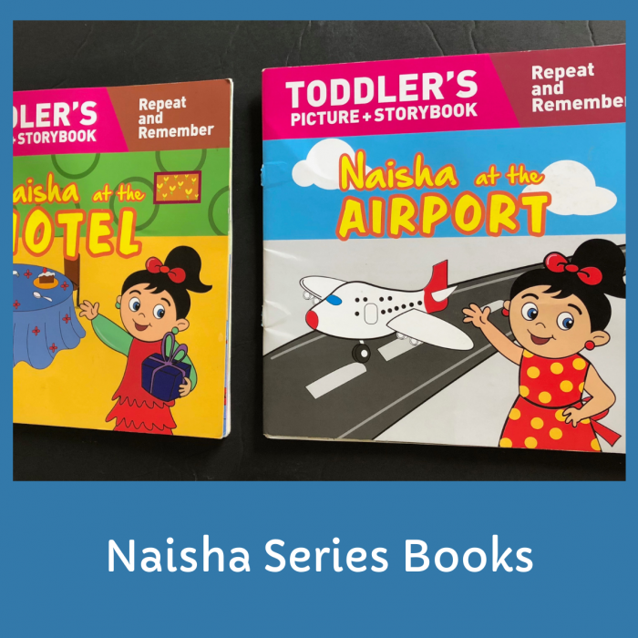 Best Books to buy for Toddlers- Naisha Series