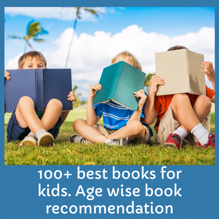 100+ Best Book recommendation For Kids