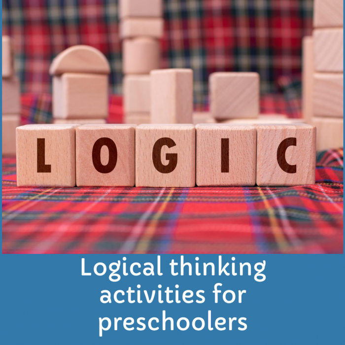3+ best Logical thinking activities for Preschoolers