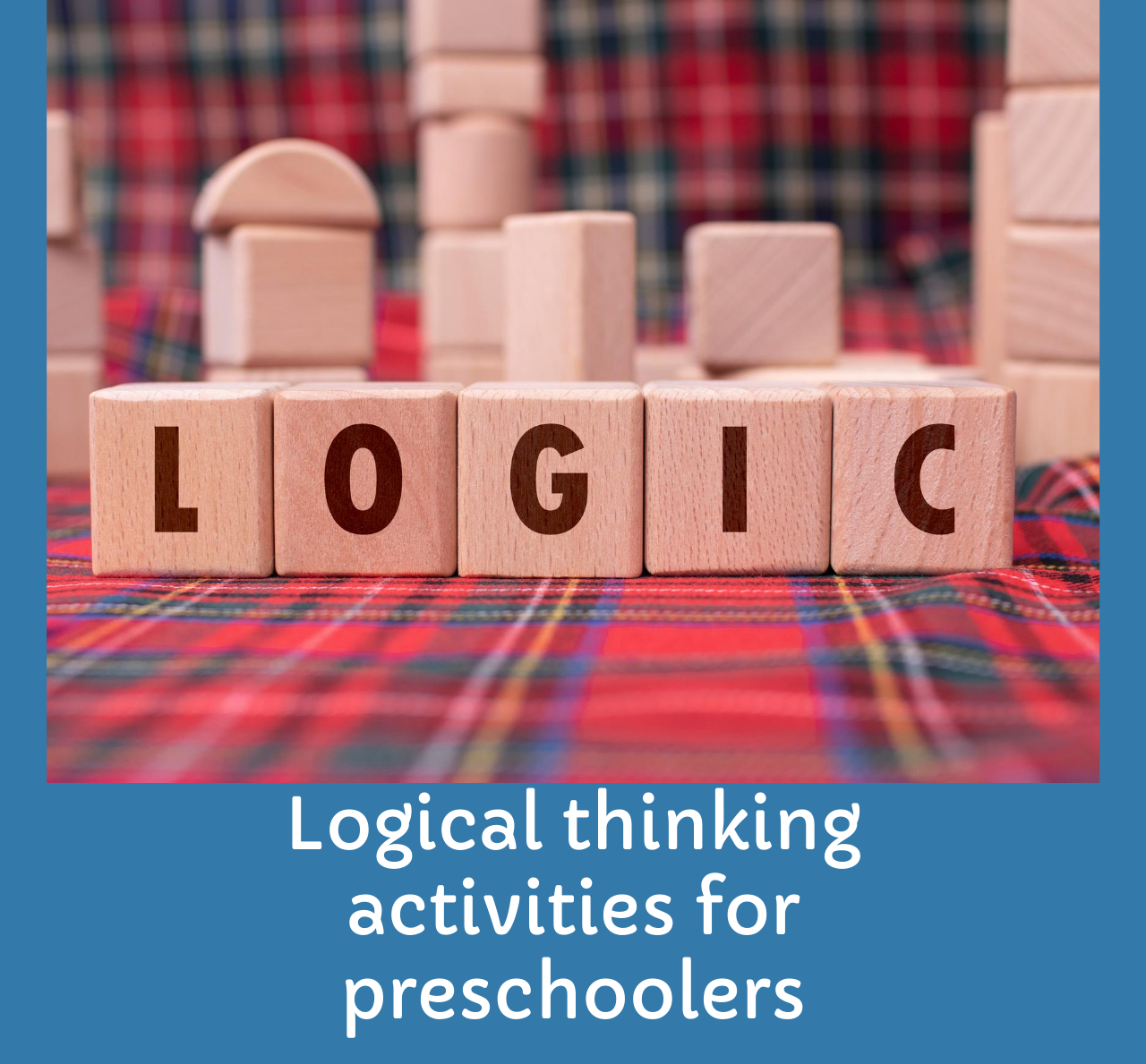 Logical thinking activities for kids