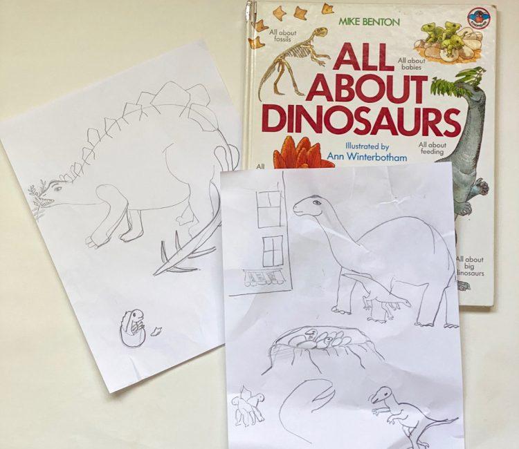 Kids Dinosaur book