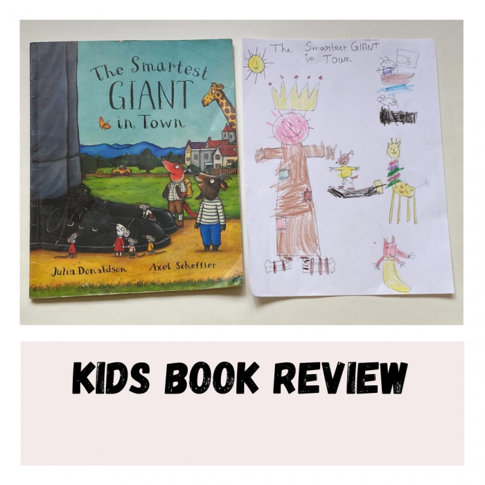 Kids book review- The Smartest Giant In Town