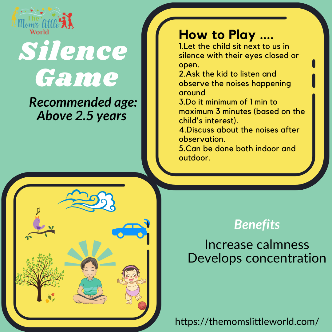 Silent game for kids