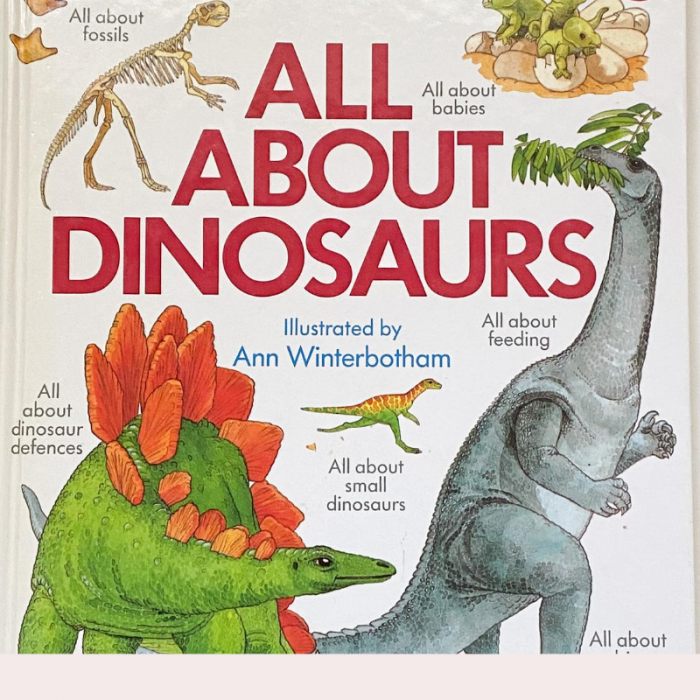 Kids Book Review- All About Dinosaur