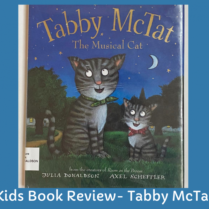 Kids Book Review- Tabby McTat