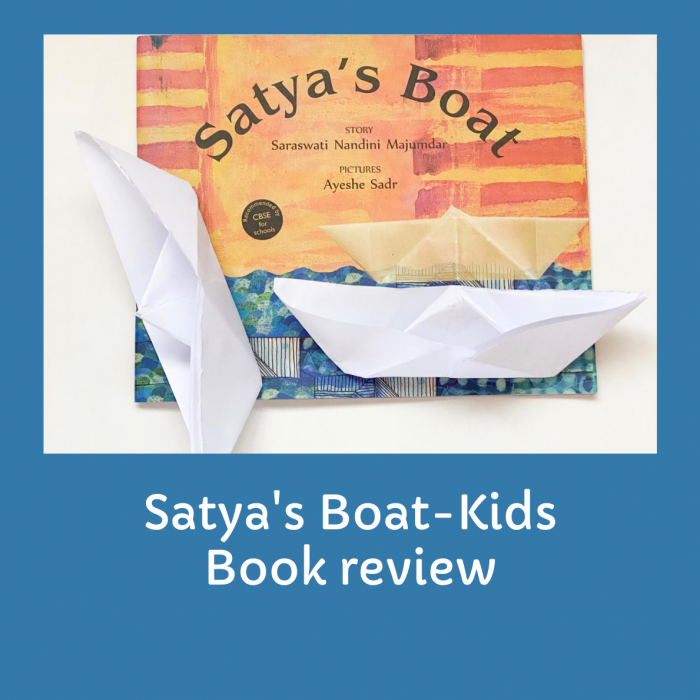 Kids book review-Satya's Boat-Tulika Publications