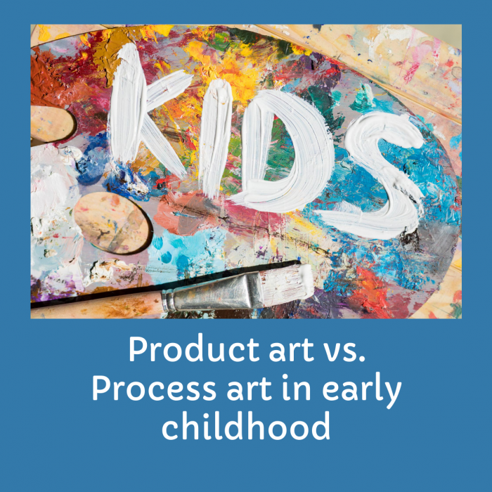 Process Vs ProductArt-Remarkable Effect Of Art In Early Childhood