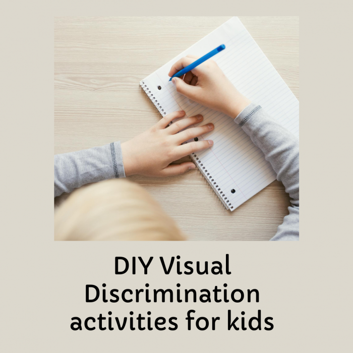SIX Best DIY Visual Discrimination Activities For Preschoolers