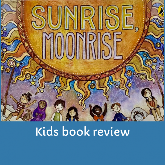 Kids Book On Culture And Prayers- Sunrise , Moonrise
