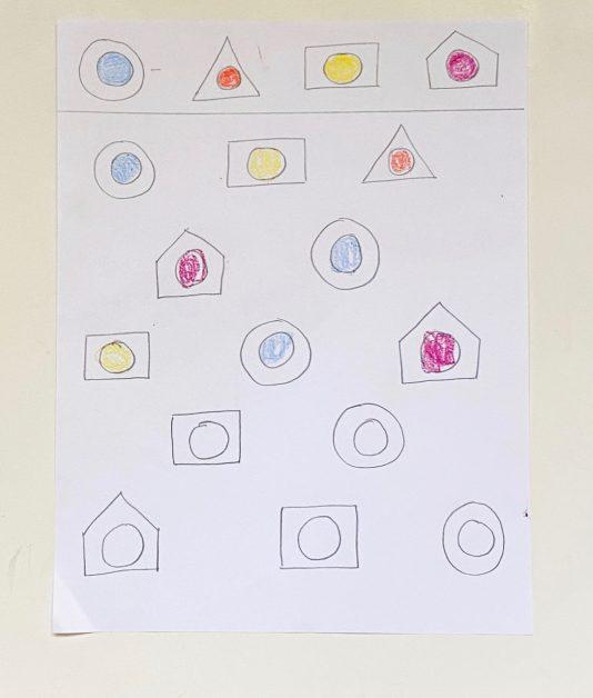 Visual discrimination for preschoolers