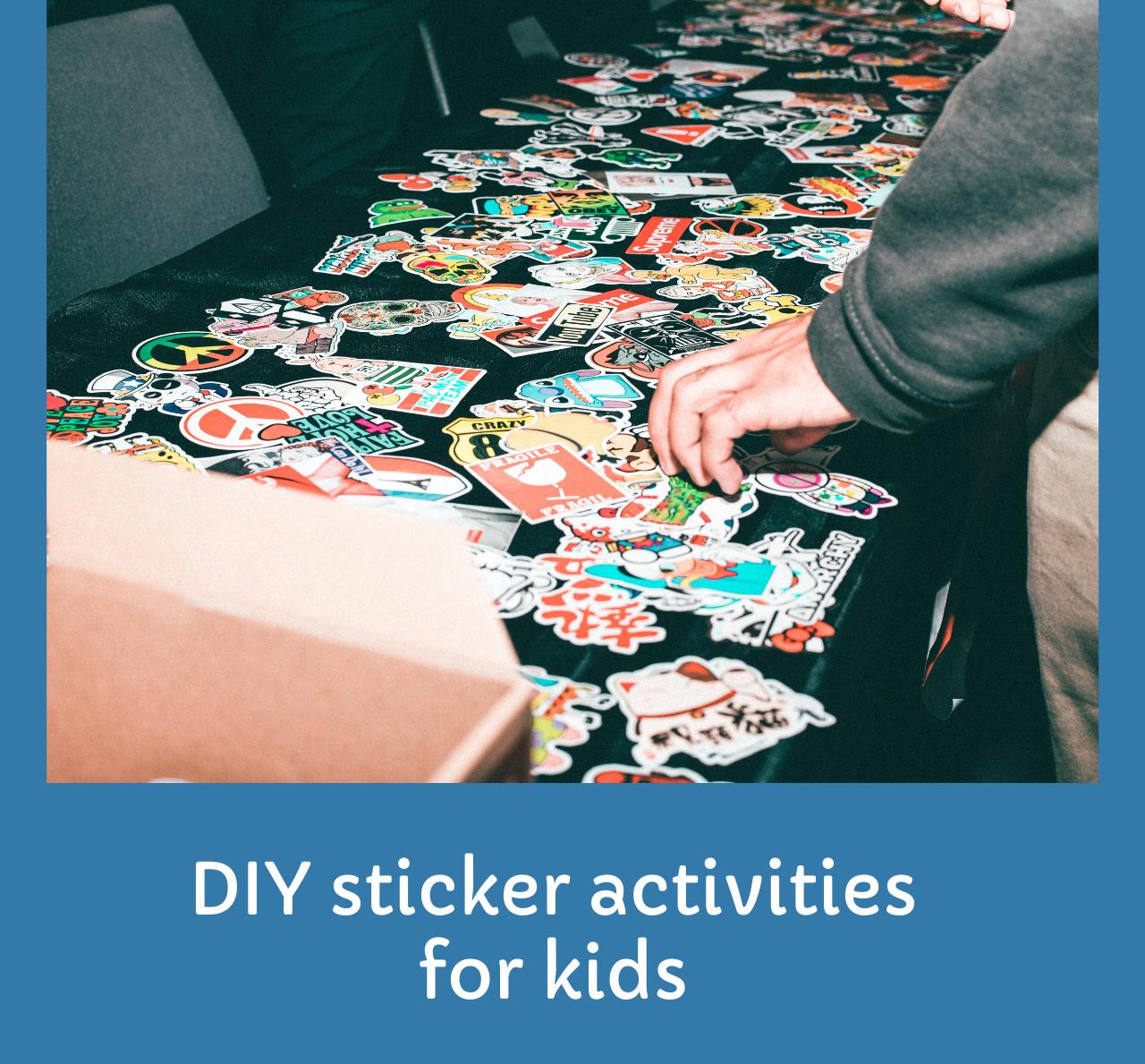 Sticker activities for kids