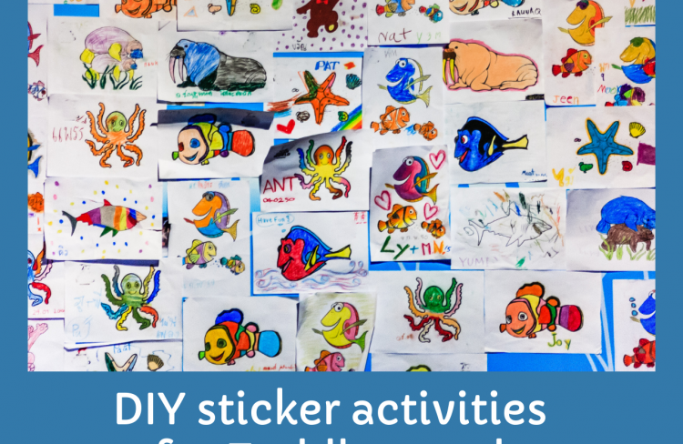 Sticker activities for Children