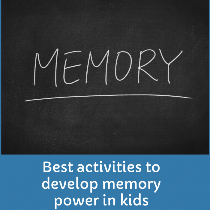 10 best activities to develop memory power in Kids