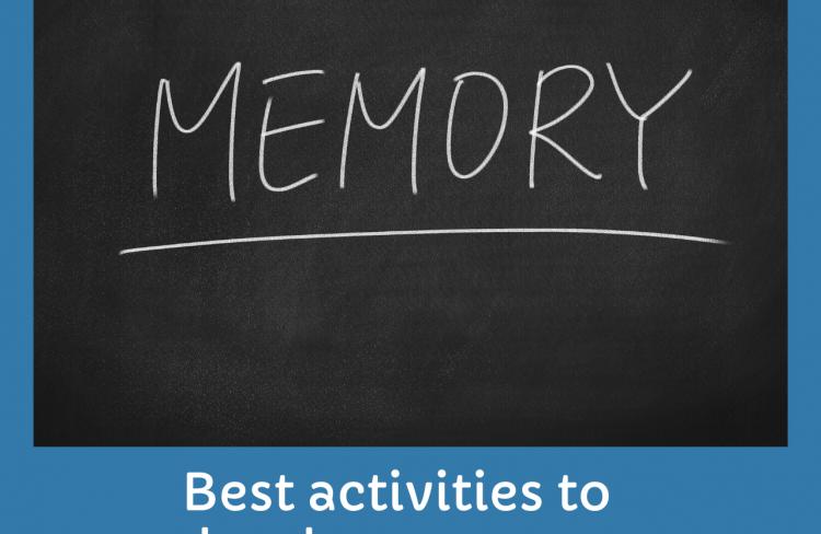Activities to develop memory in kids