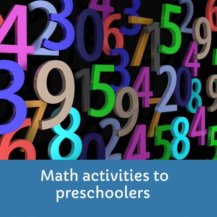 Best math activities for preschool kids to understand the basic