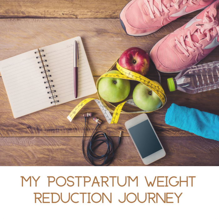 How to reduce postpartum weight in a healthy way- My weight loss journey