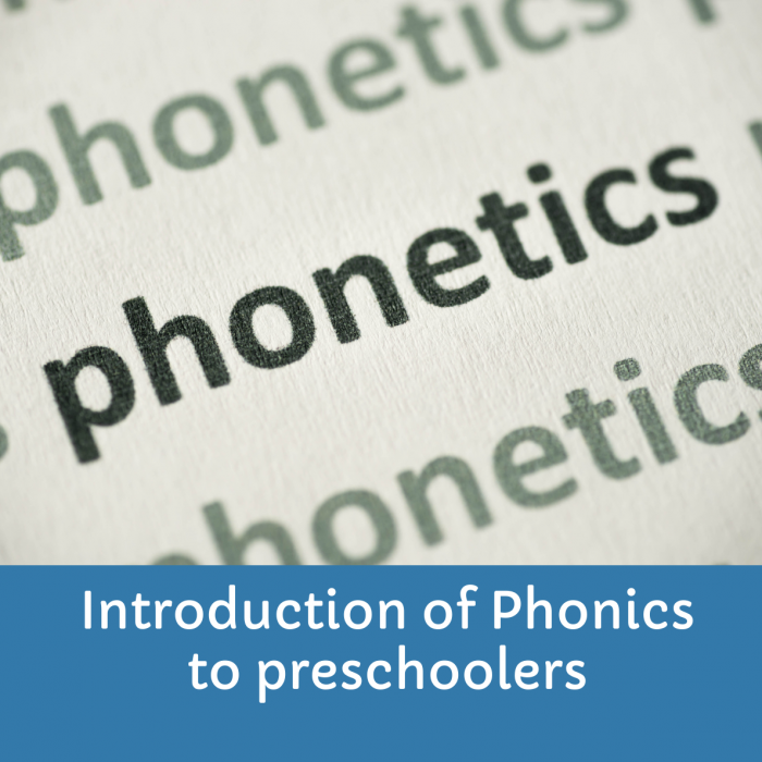 How to start teaching phonics at home for preschool kids