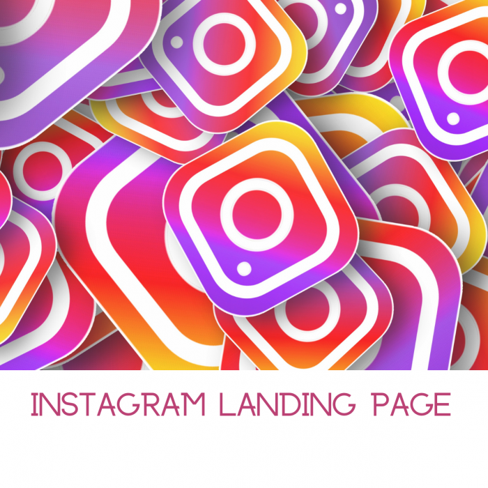 Instagram Landing page for Printable