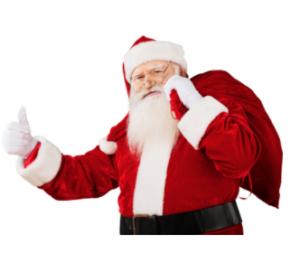 Santa visit in TamilNadu