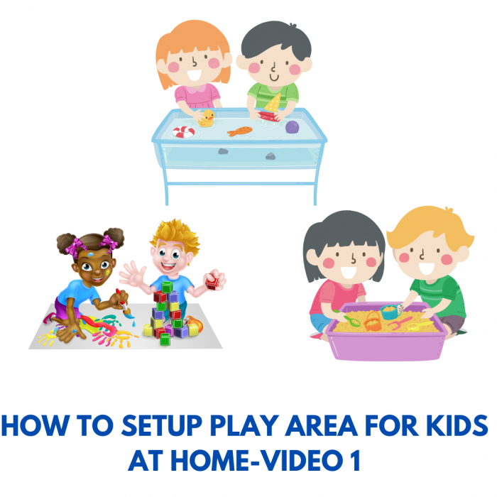 How to setup play area for toddlers and preschoolers ?-Part 1