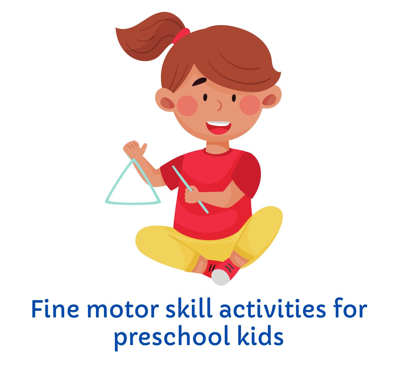 Fine motor skill activities for kids
