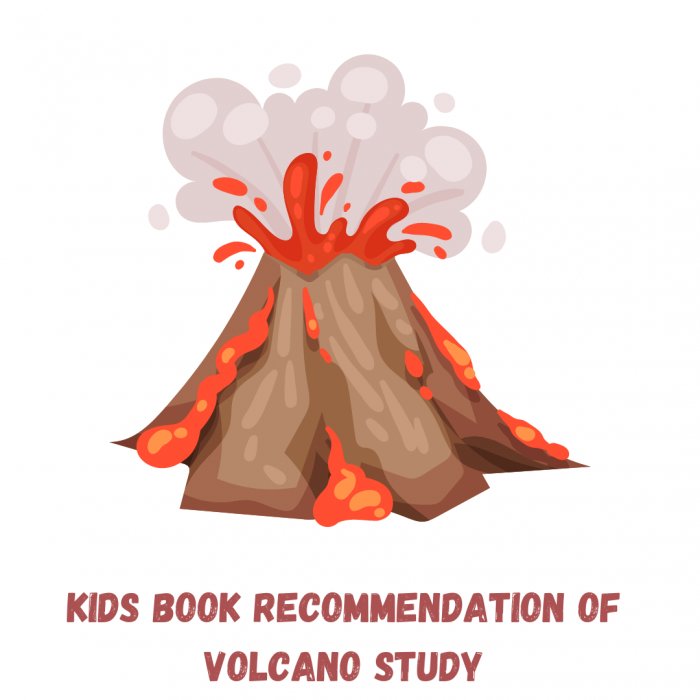 Kids Book recommendation and hands-on experiment on Volcano study
