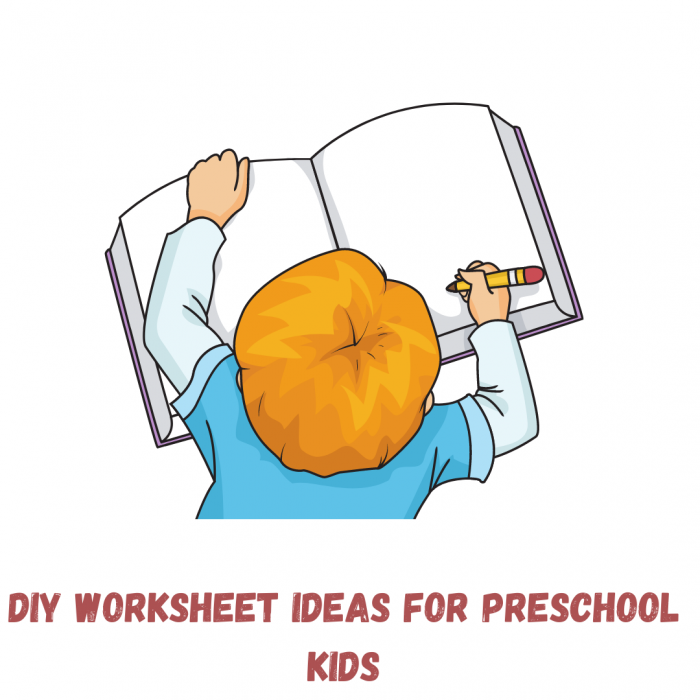 Simple DIY worksheets for preschool kids