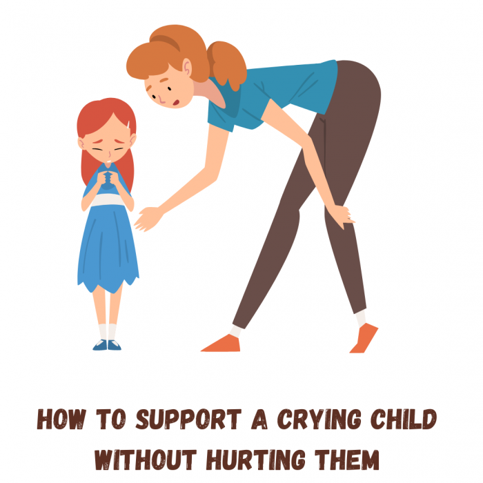 How to support a crying child emotionally? – Crying is OK!!!