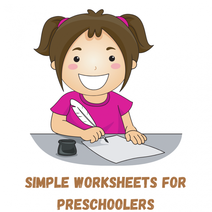 Simple DIY worksheets for preschoolers