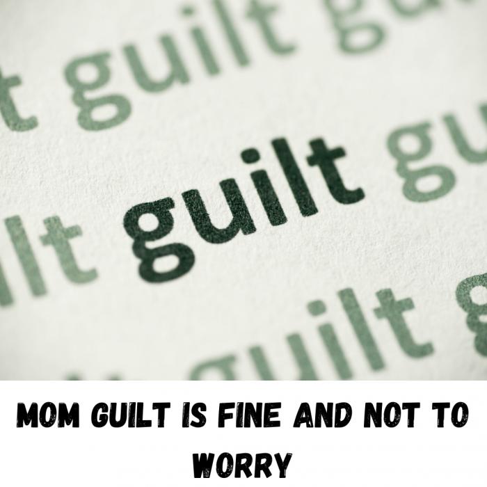 Am i a good parent ? Having mom and dad guilt