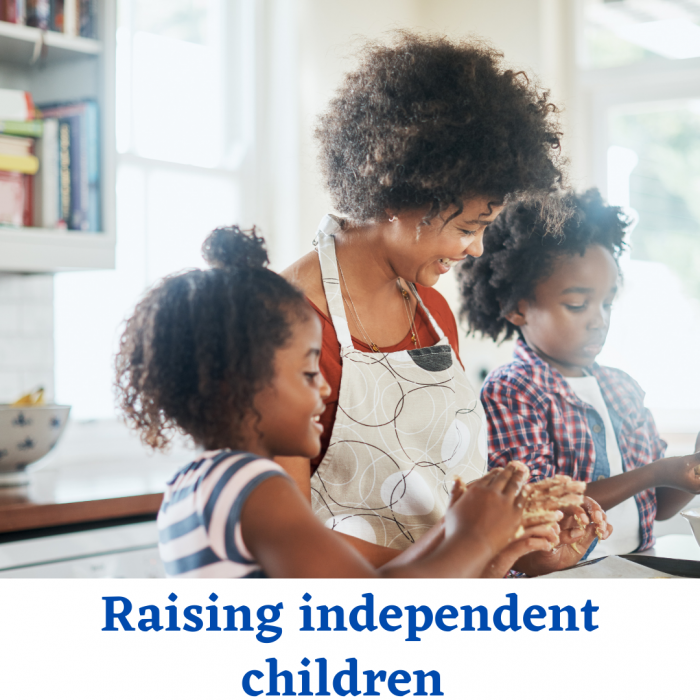 How to raise an independent children?